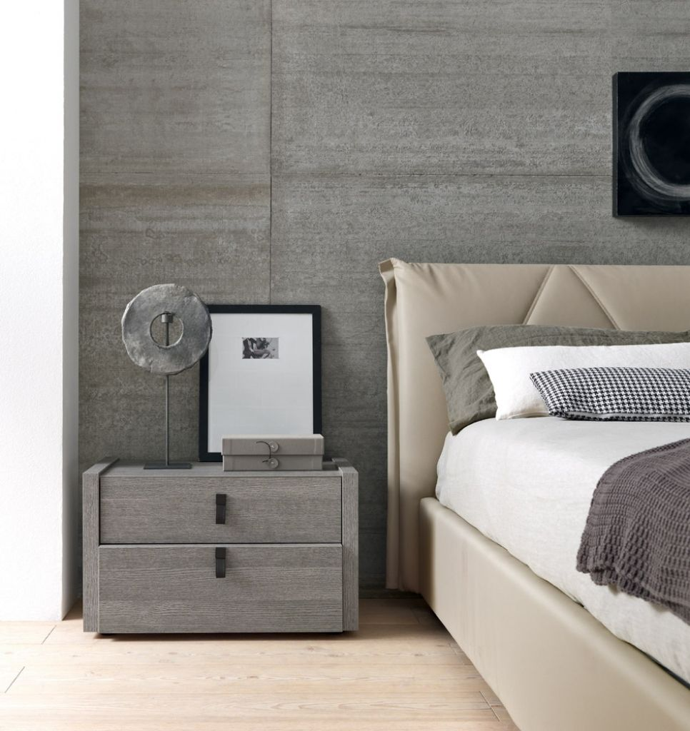 grey wooden bedroom furniture interior design