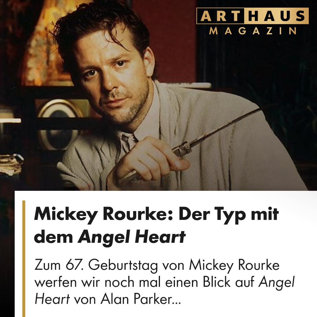 Mickey Rourke Der Typ Mit Dem Angel Heart Mickey Rourke Film Tipp Mickey