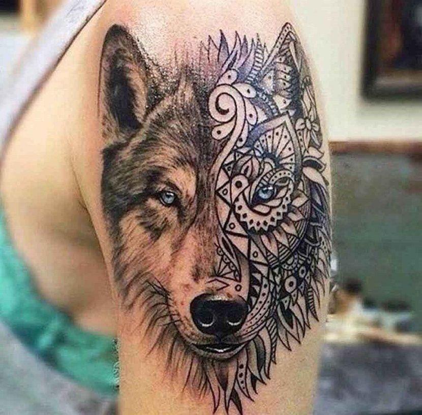 Pin De Camilo Nua Ez En Tattoos En 2020 Tatuajes De Lobos Tatuajes Preciosos Brazos Tatuados
