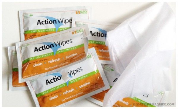 The Endurance Athlete's Shower in a Pocket: Action Wipes