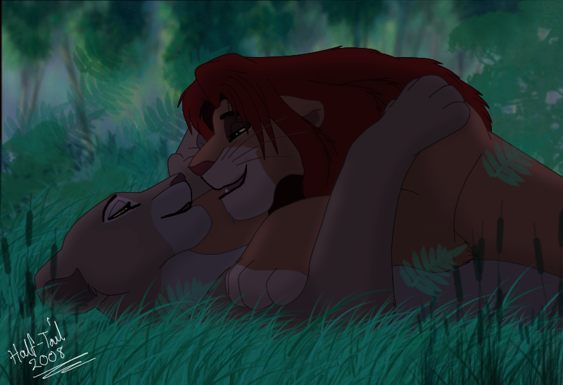 simba and nala love | Lion king | Pinterest | Lions ...