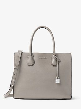 e1d8e0a9110b Mercer Large Leather Tote by Michael Kors | Accessories-Bag and ...