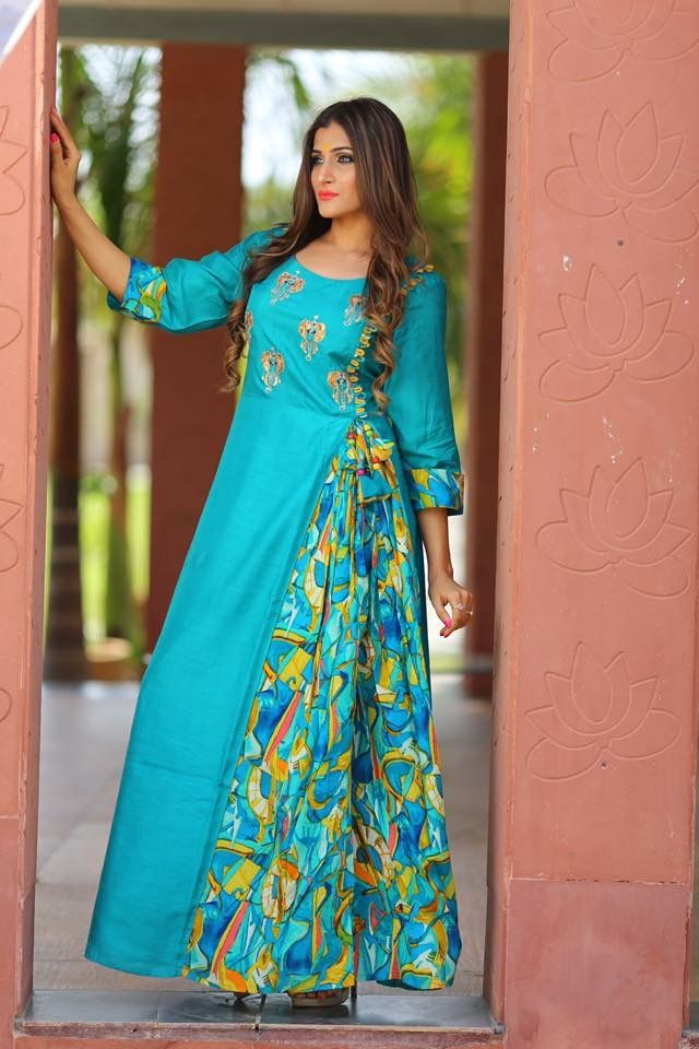 c5e822a893f771 Pin by Spandana Reddy Sappidi on Kurtis