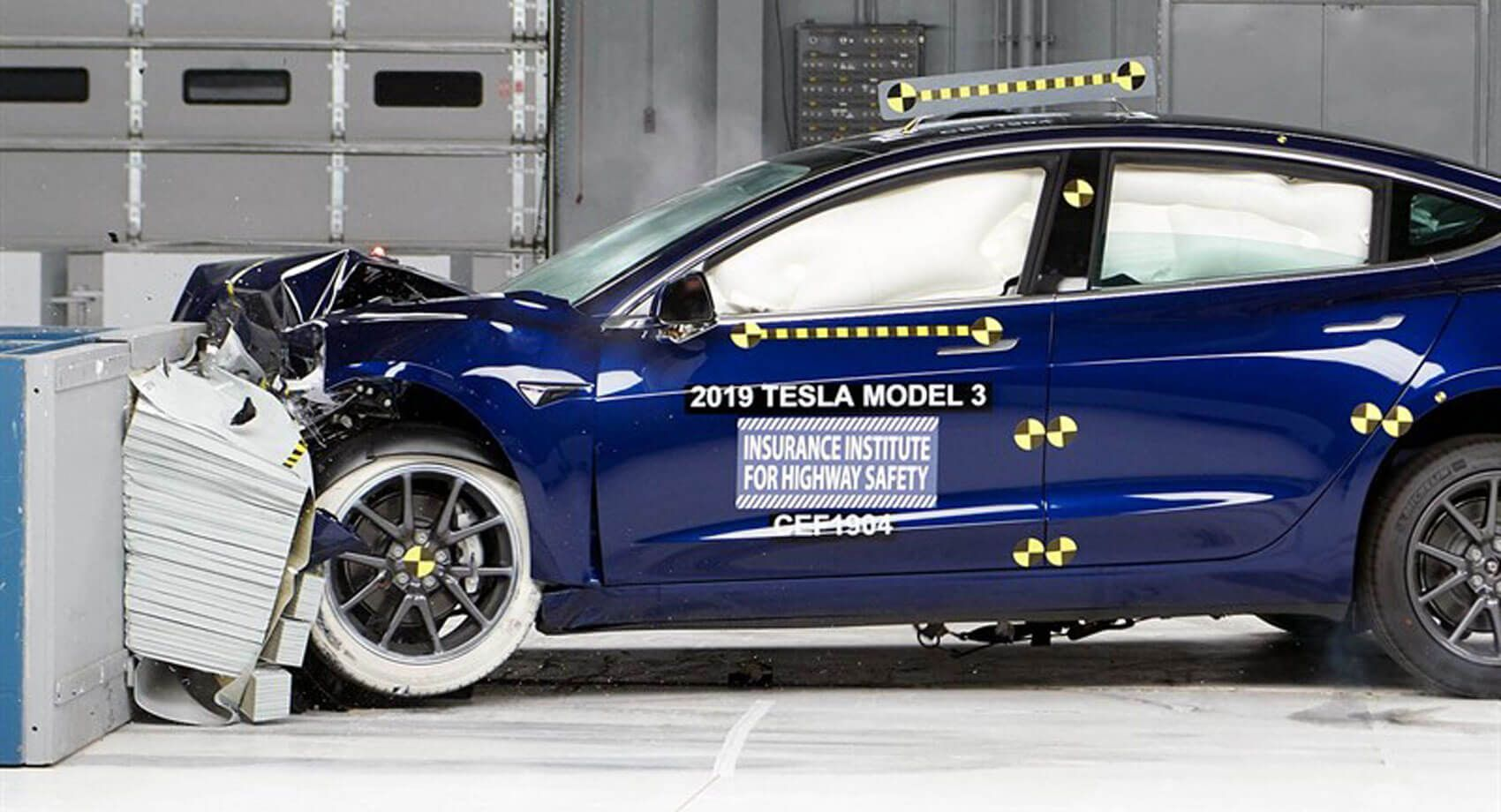 Tesla Model 3 Aces Iihs Safety Tests Nabs Top Safety Pick Award