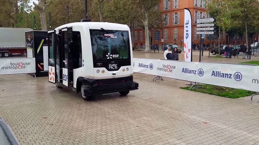 The first driverless shuttle in Ireland will make its