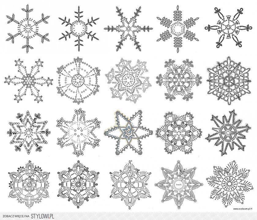 http://stylowi.pl/27401103 | tapetes | Pinterest | Nieve, Ganchillo ...