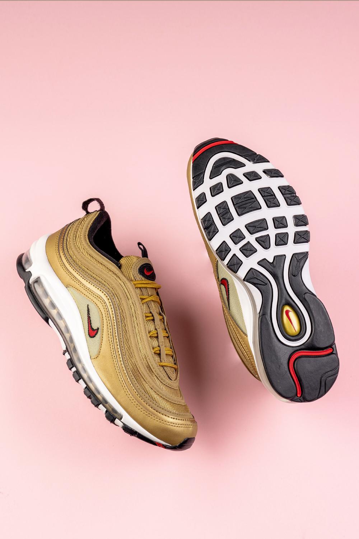 Nike Air Max 97 OG QS 884421 700 Gold White Sneaker 2 | Nike