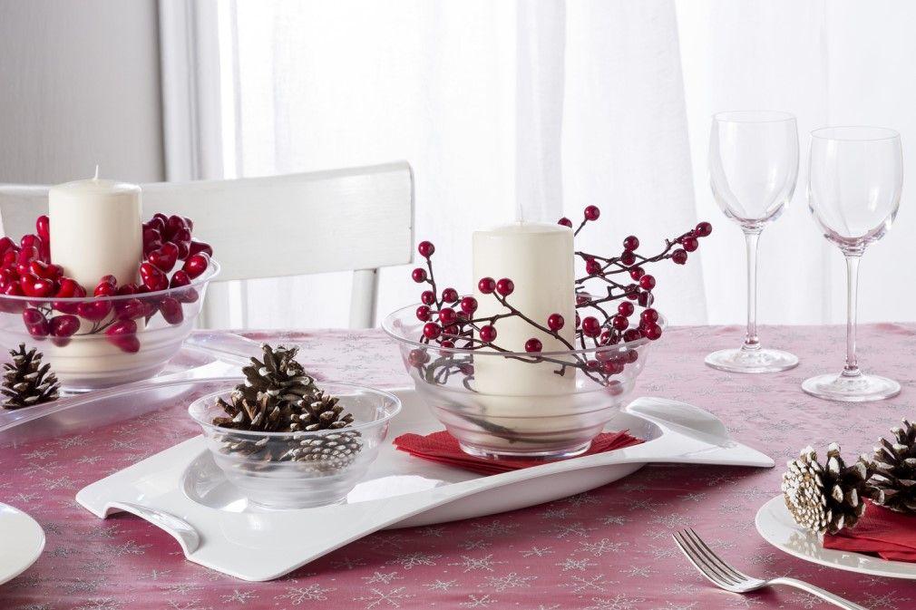 Le insalatiere e il vassoio Kristal sono pratici ma allo stesso tempo eleganti. Perfetti per essere utilizzati in qualsiasi situazione. #bamagroup #insalatiera #vassoio #tavola #miseenplace #Christmas