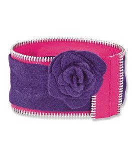 Zipper & Felt Bangle Bracelet: Bracelets: Jewelry & Bead Projects: Shop | Joann.com