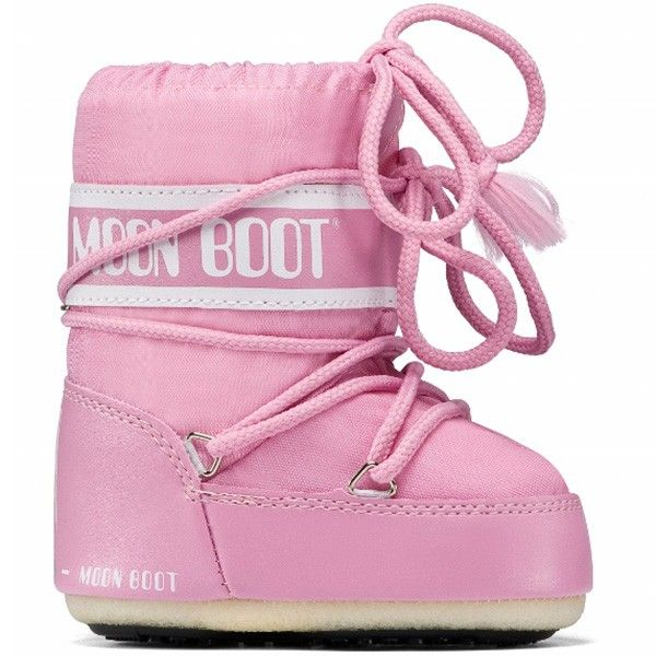 Tecnica Moonboot Mini Pink for Girls from www.kidssandcouture.com