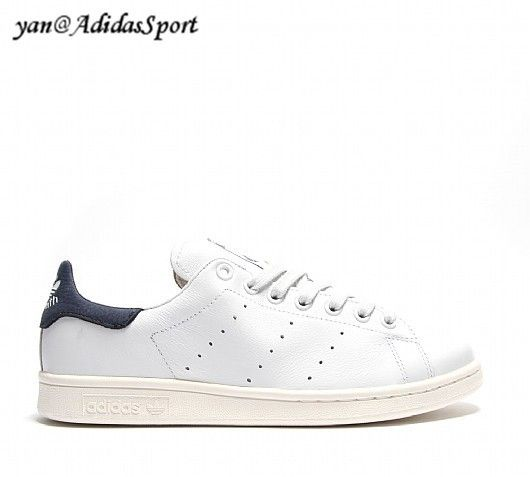 brand new 83de5 e437a Adidas Originals Stan Smith men sneakers leather neo white and Navy HOT  SALE! HOT PRICE!
