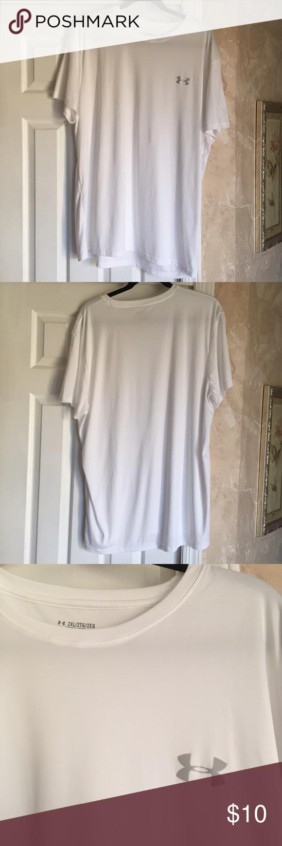 Under Armor short sleeve t shirt Under Armor short sleeve t shirt. Size XXL. 100% polyester. Under Armour Shirts Tees - Short Sleeve