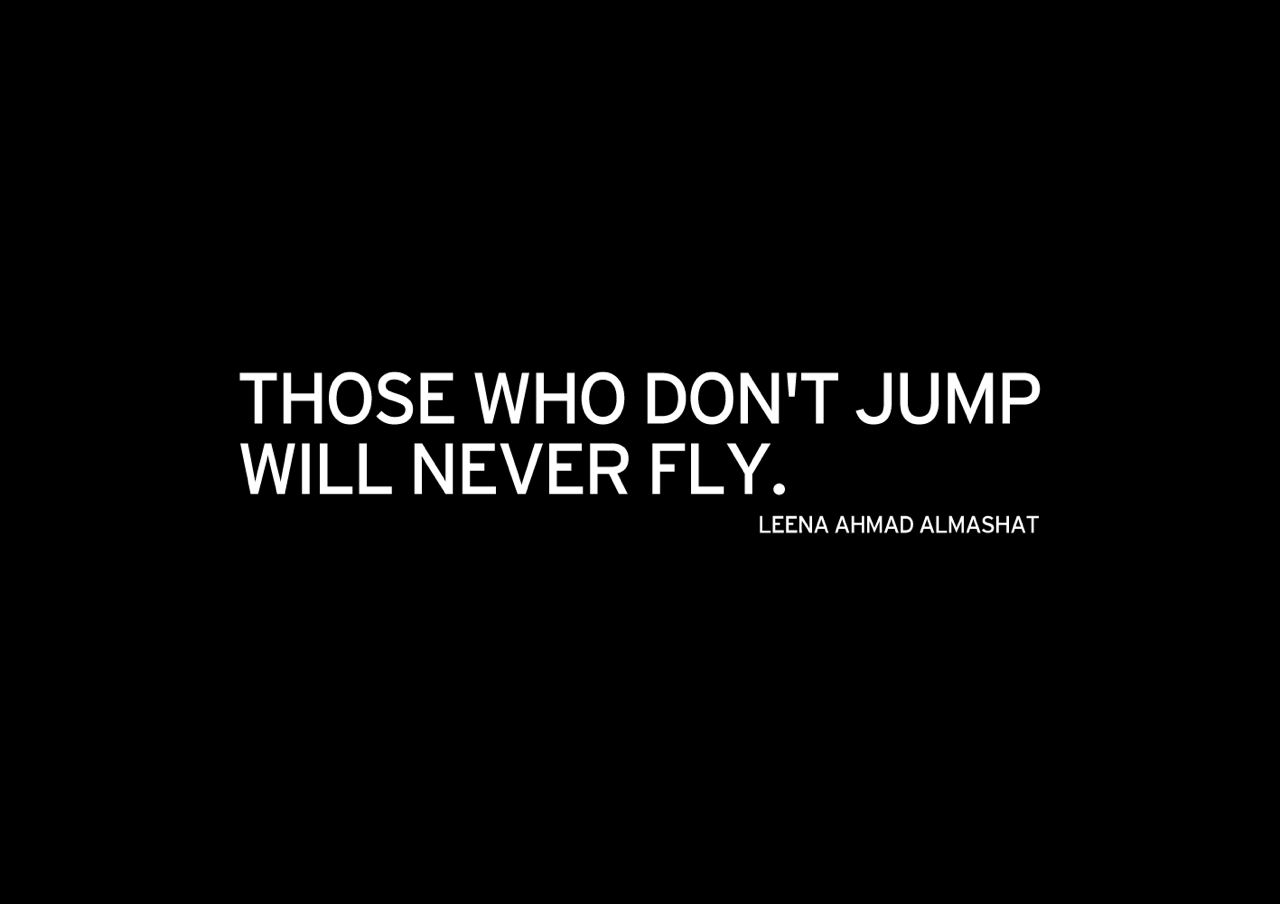Those Who Dont Jump Will Never Fly Teaser Something To