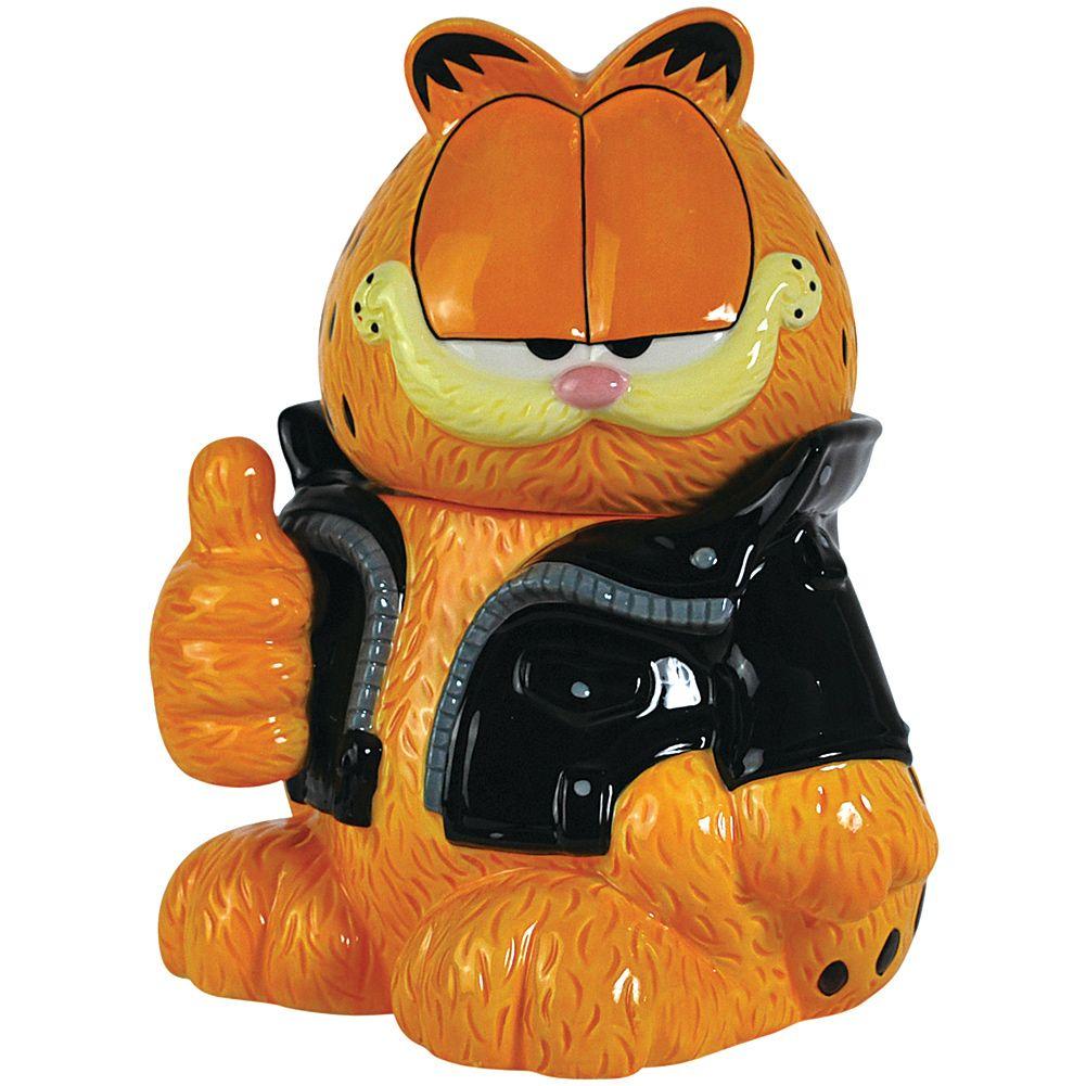 Garfield Cookie Jar Garfield Collectibles  Garfield Too Cool Cookie Jar Collectible