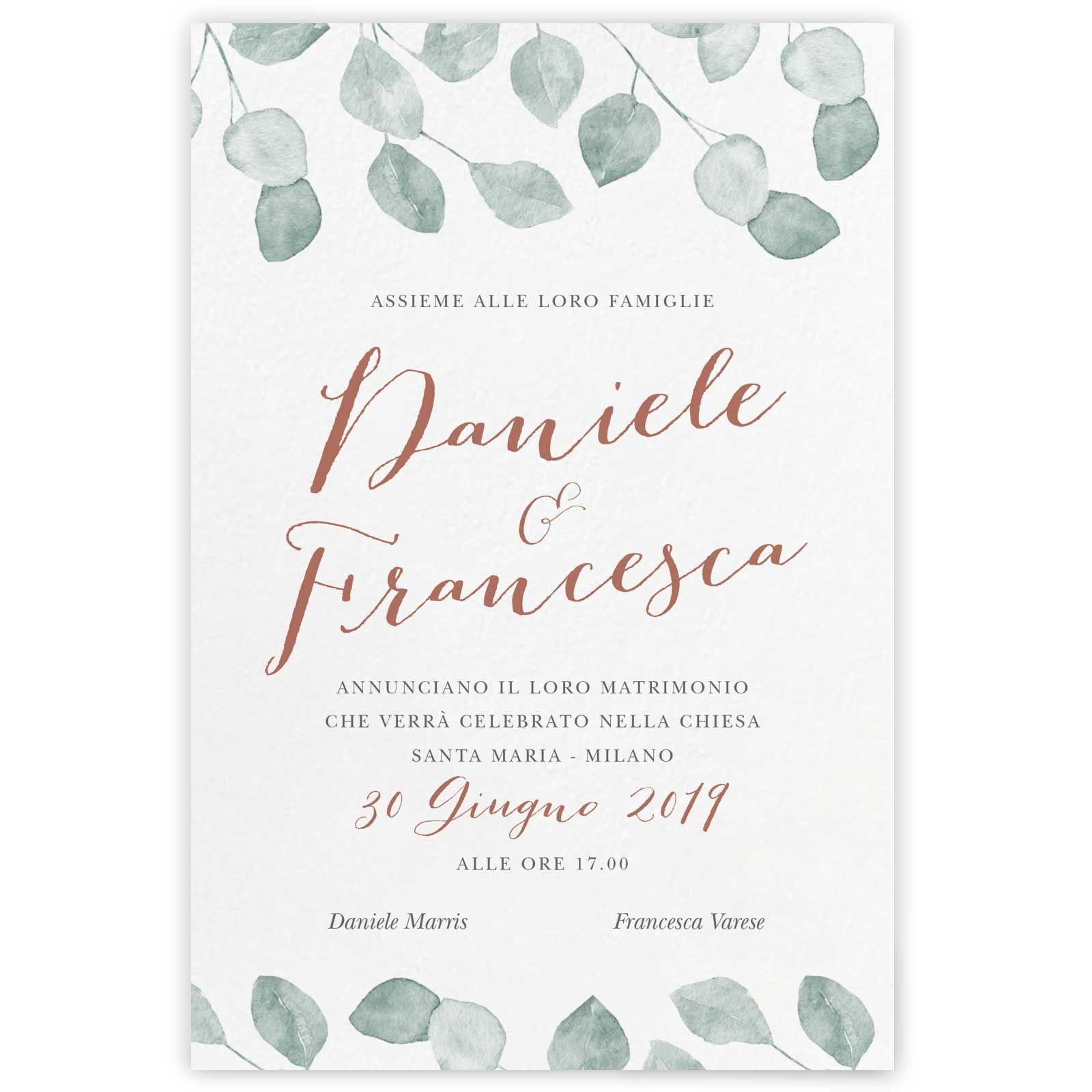 Partecipazioni Di Nozze On Line My Wedding Paper Partecipazioni Nozze Matrimonio Inviti Di Nozze