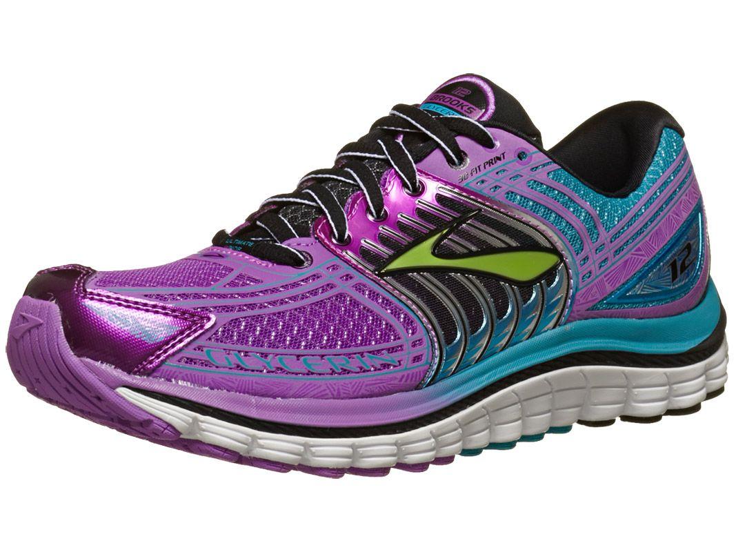 a27a100005a8a Brooks Glycerin 12 Women s Shoes Purple Capri Black