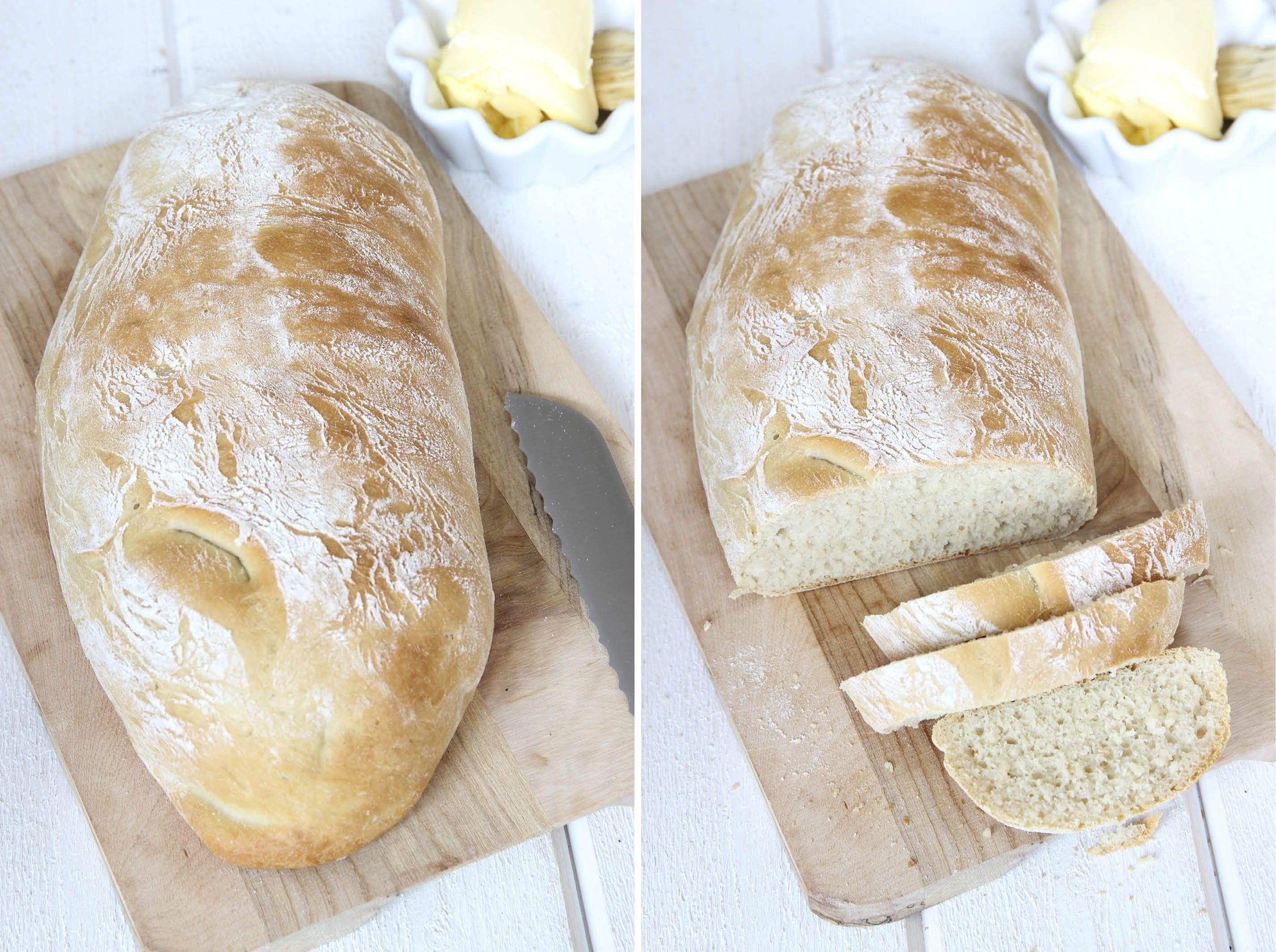 baka bröd utan bakplåtspapper
