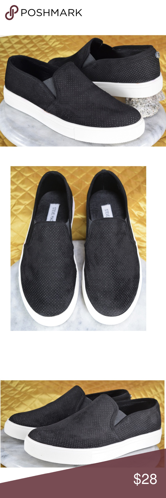 Black Sneakers ZARAYY Sz 8.5