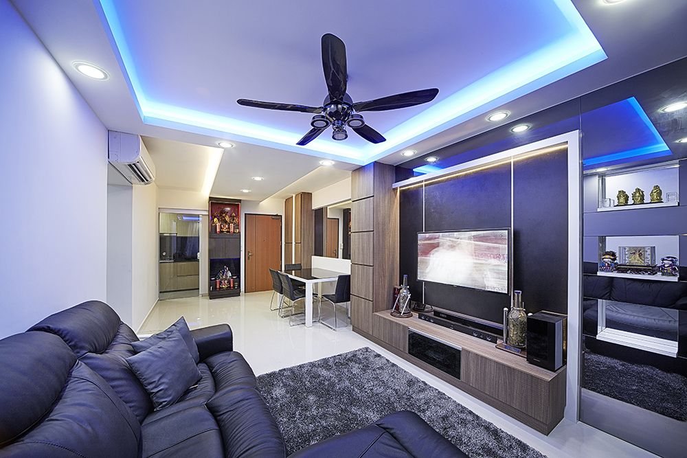 HDB Flat Singapore Interiors and Spaces