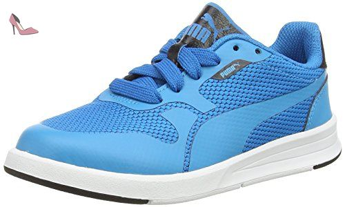 blueblack Icra Enfant Puma Junior Blue Evo Mixte Basses Baskets TxCwRf8Cq