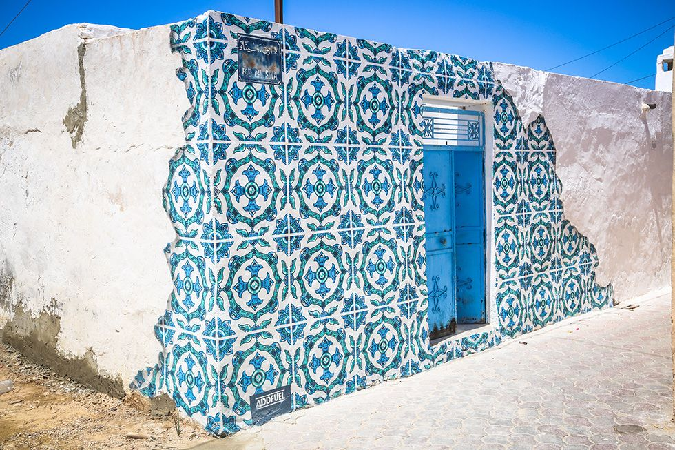 One Village, 150 Street Artists: A Sleepy Tunisian Town turned Vibrant Open Air Museum