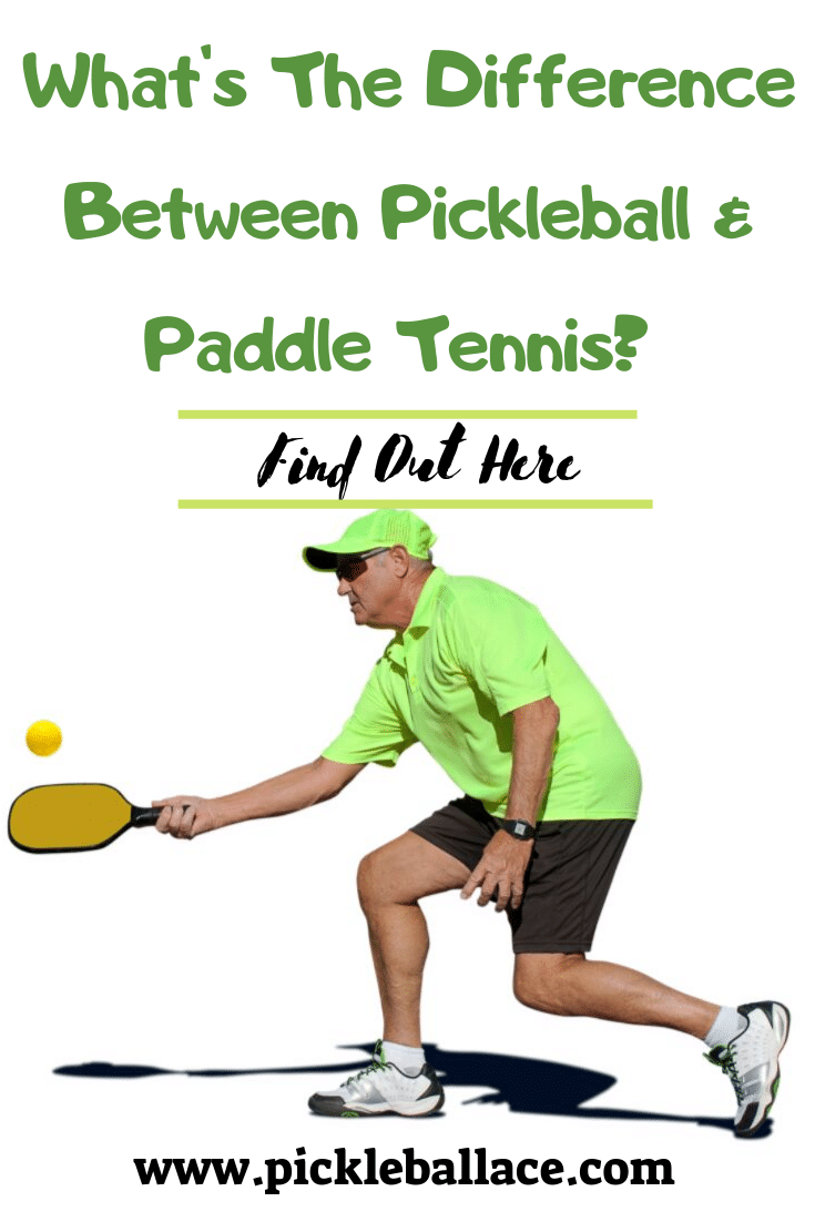 pickleball paddletennis Pickleball VS Paddle Tennis