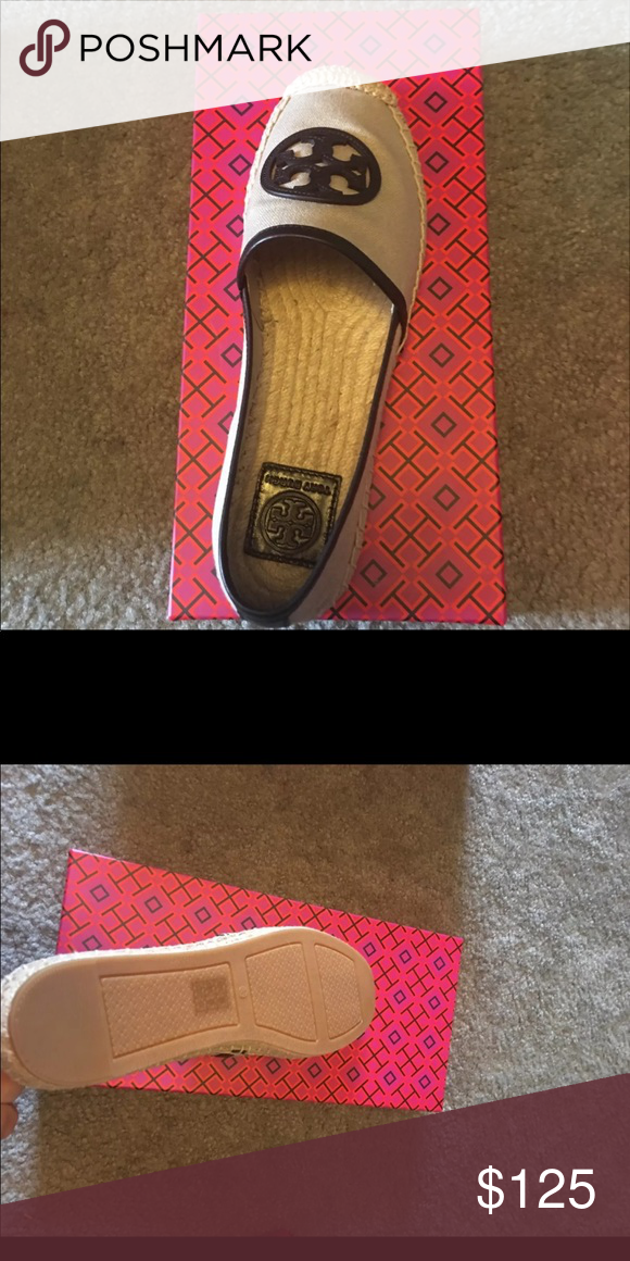 b70dde5e21a2 Tory Burch espadrilles Never worn brand new authentic TB sir 8.5 espadrille  Tory Burch Shoes Espadrilles