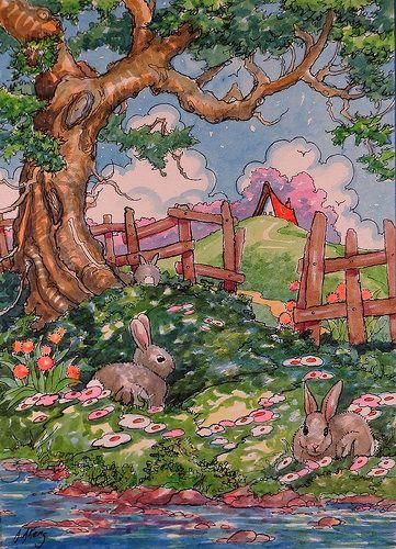 Bunny Shade SBC   Flickr - Photo Sharing!
