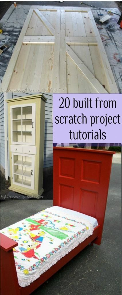 My Repurposed Life-20+ projects built from scratch. | DIY projects ...