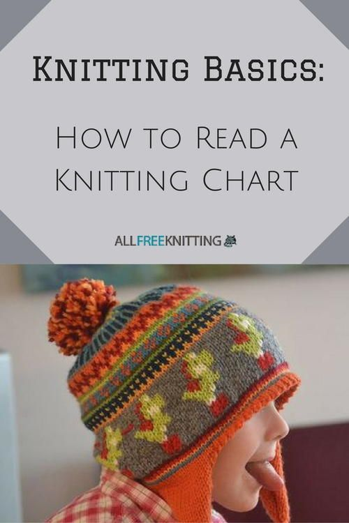 How To Read A Knitting Chart Knitting Basics Knitting Charts And