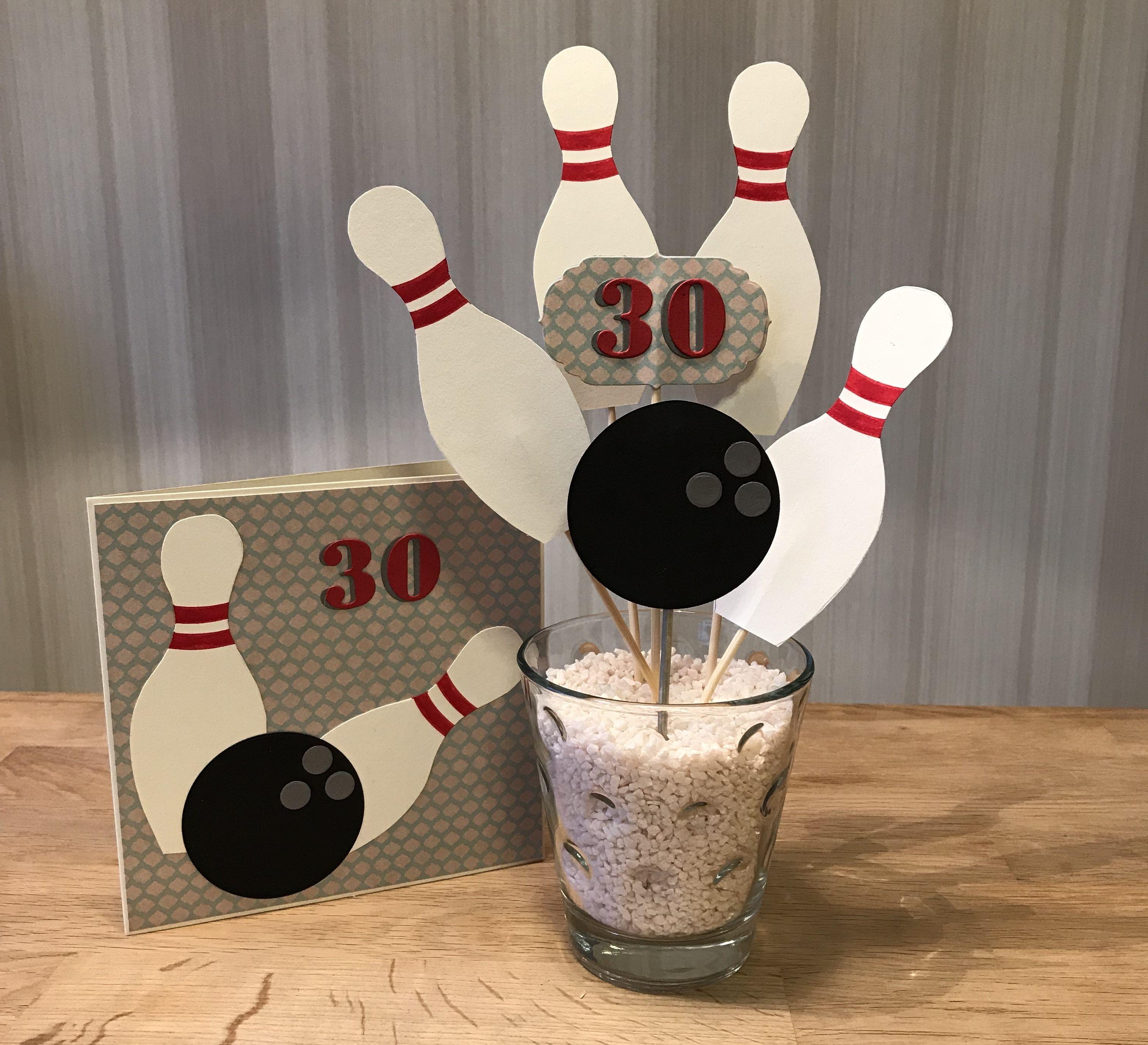 Geschenk und Karte zum 20. Geburtstag Bowling Abend Gutschein ...