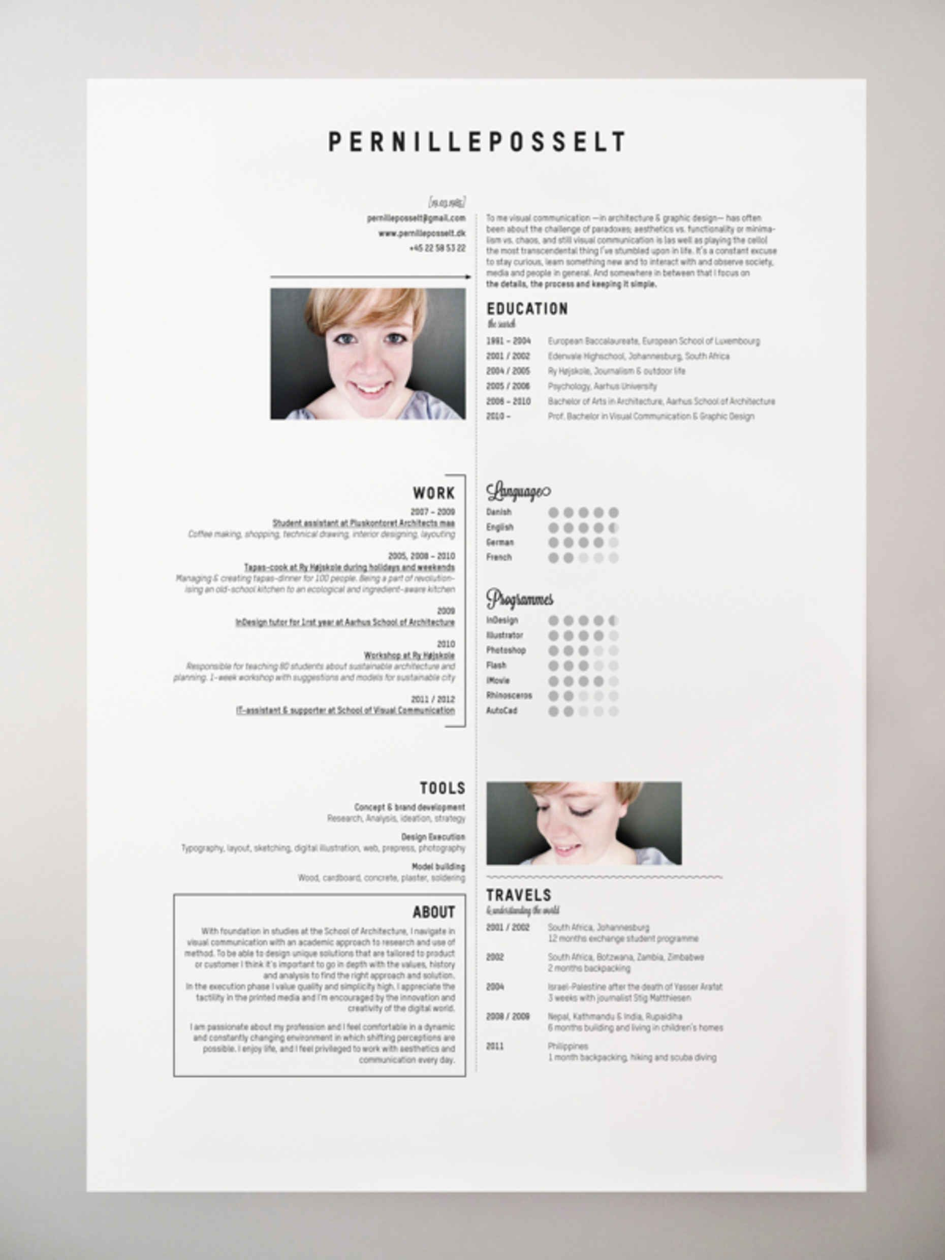 20 Cool Resume Cv Designs Cv Design And Resume Cv