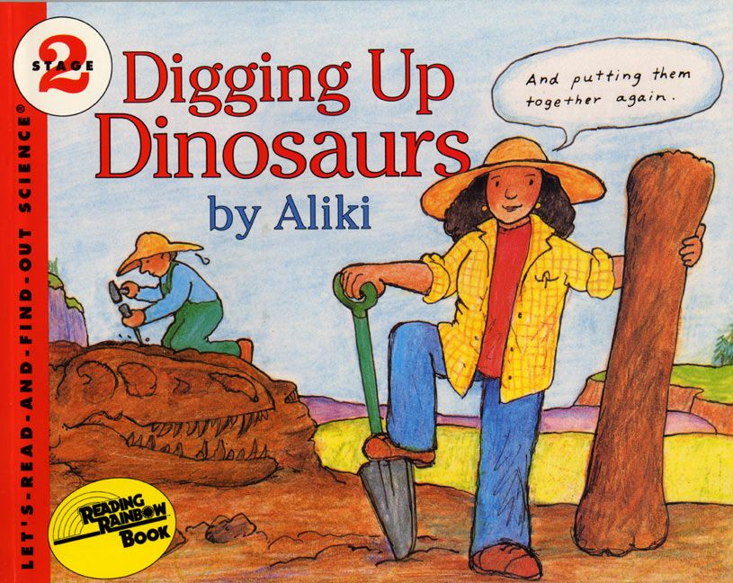 Digging up dinosaurs book and tape dinosaur unit study