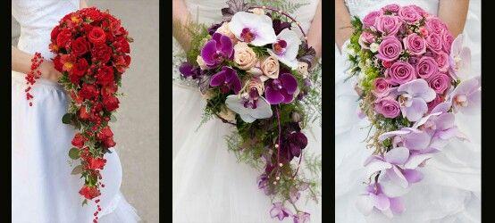 Bouquet Cadente Sposa.Bouquet Sposa Cadente Con Immagini Bouquet Sposa