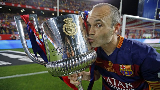 A captain's performance from Iniesta in the cup final