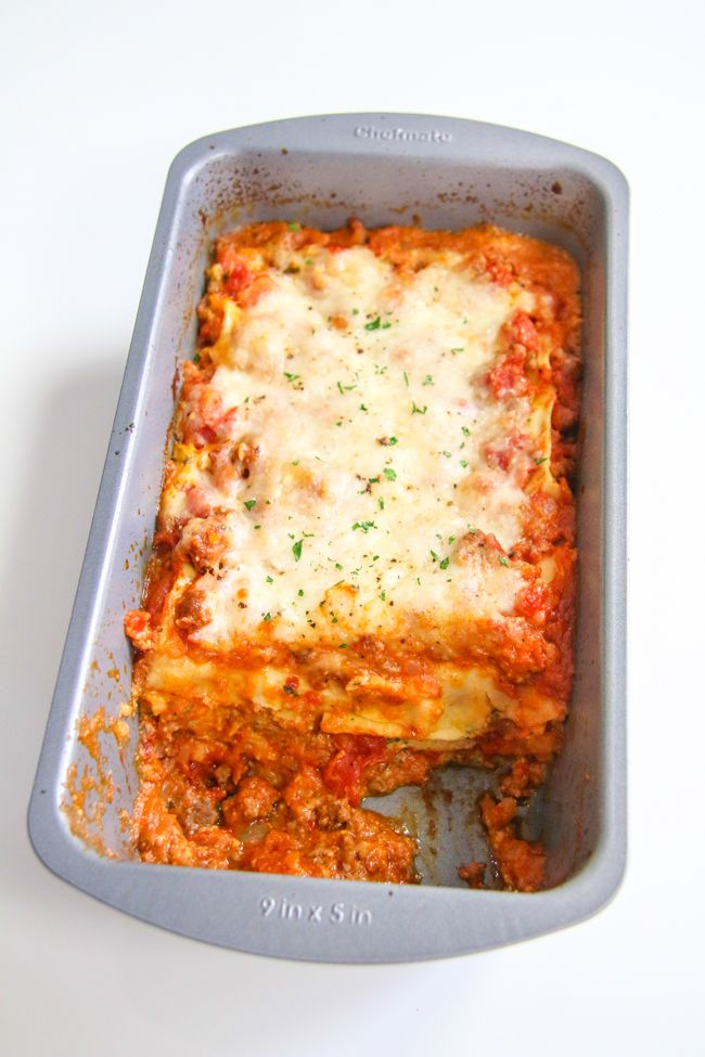 Lasagna For Two Chefjulieyoon Com Nom Noms