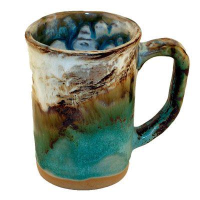 Etta B Turquoise Mug