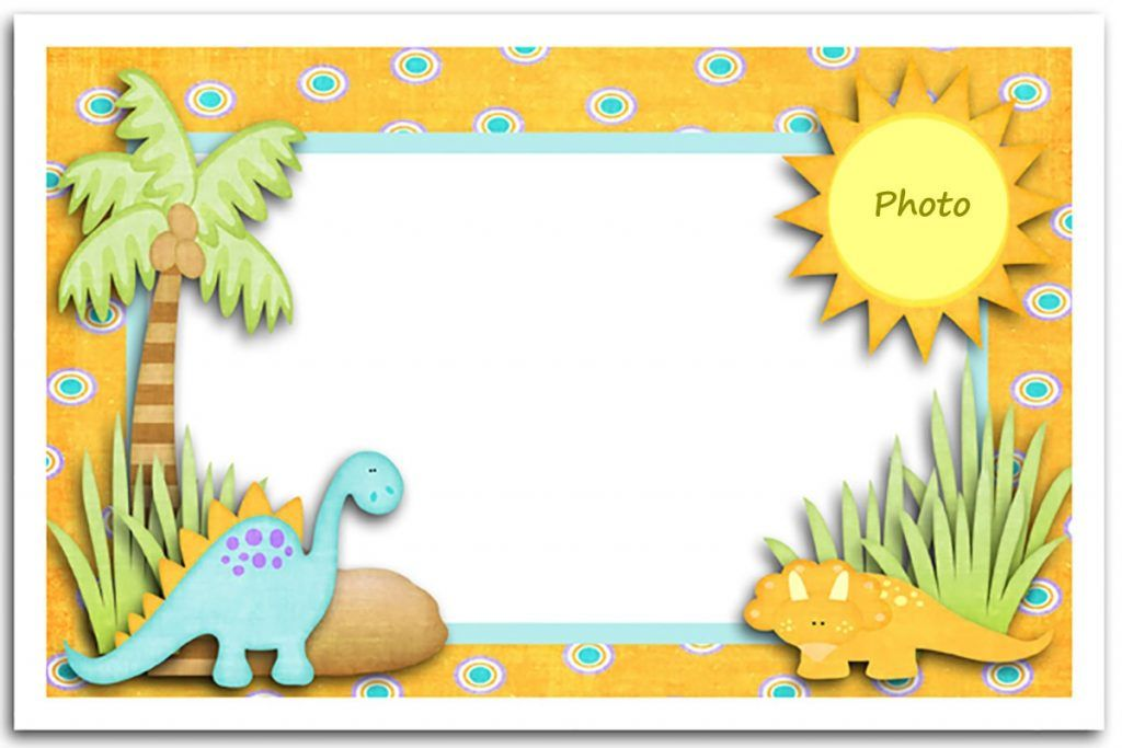 Editable Dinosaur First Birthday Invitation Card First Birthday Invitations Free Birthday Card First Birthday Invitation Cards