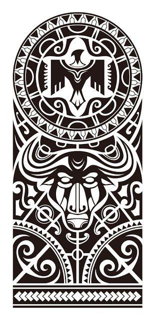 24 Plantillas tatuajes maories