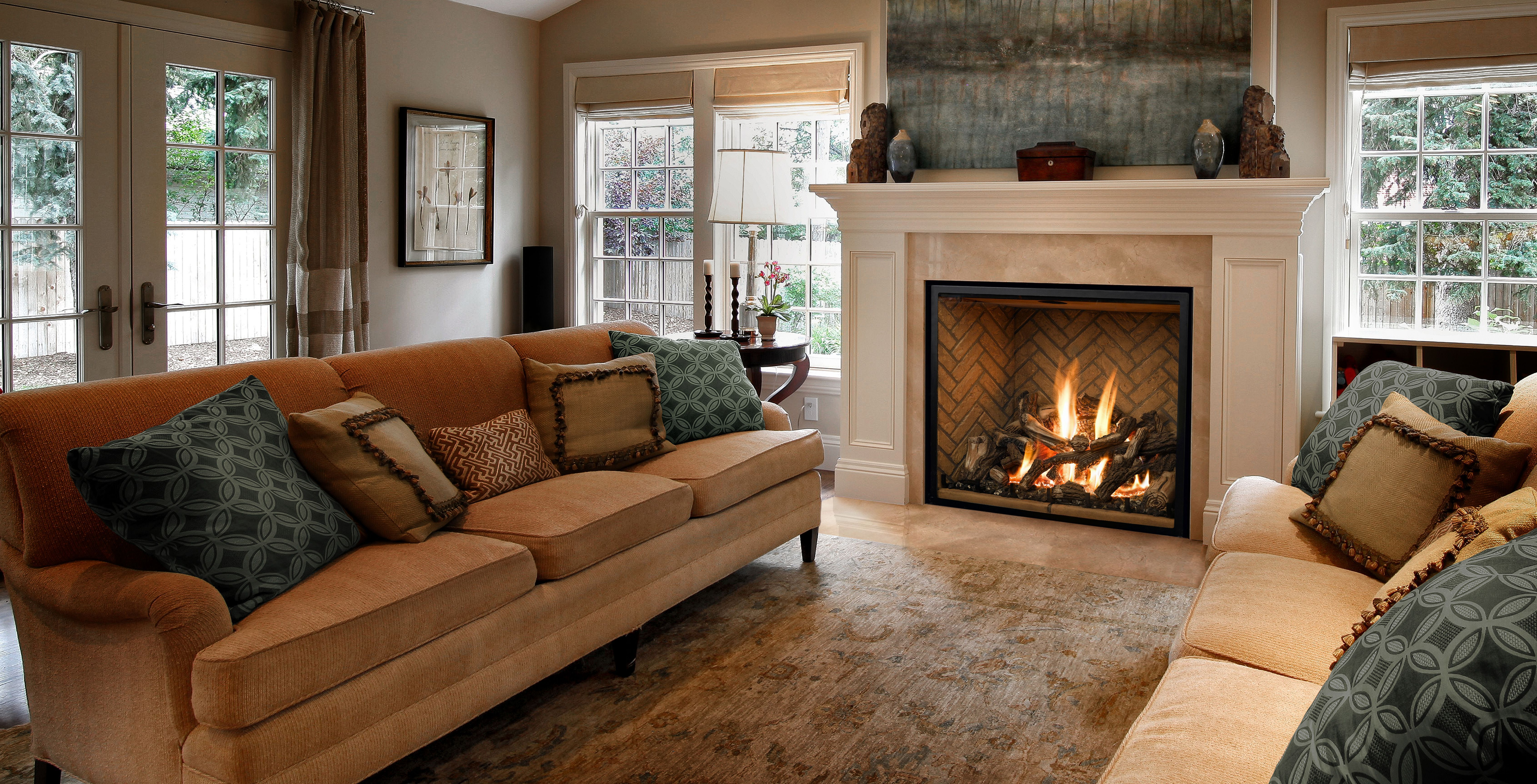 25 Classic Fireplace Design Ideas For Apartment Living Room