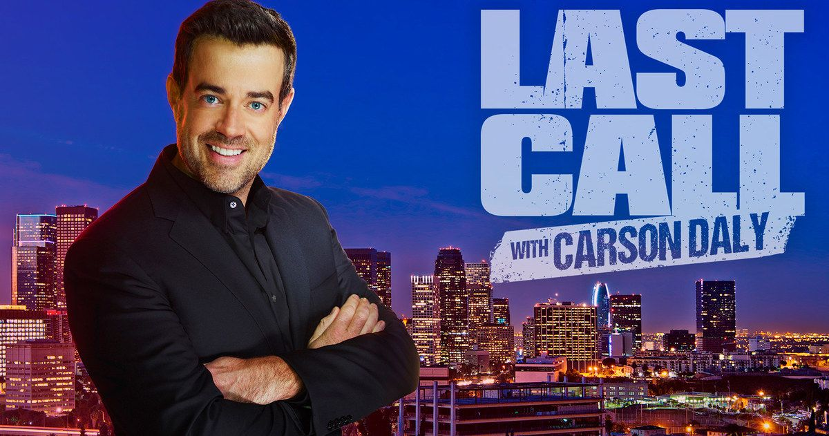 Carson Daly Exits 'Last Call' After 17 Years Carson daly