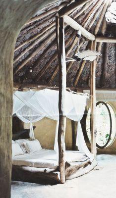 home decor hippie bedroom inspiration boho bed rustic natural bohemian Interior ...