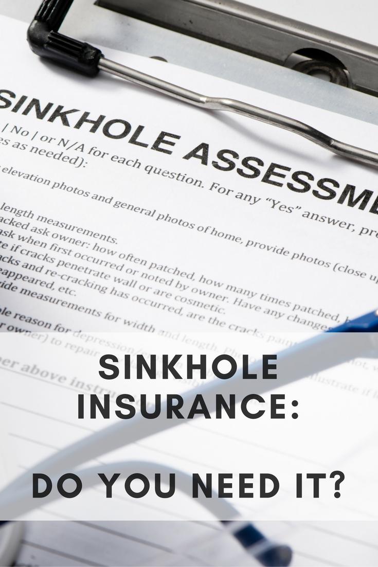 Do you really need sinkhole insurance? | Homeowners ...