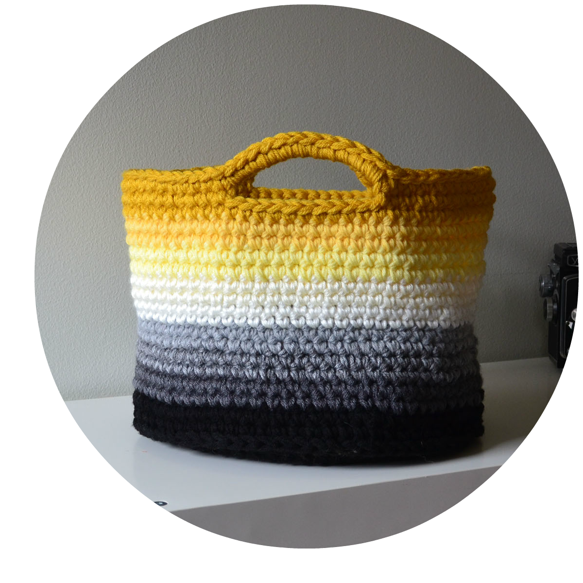 I am so amazed at the interest with this basket I used 9 colors and ...