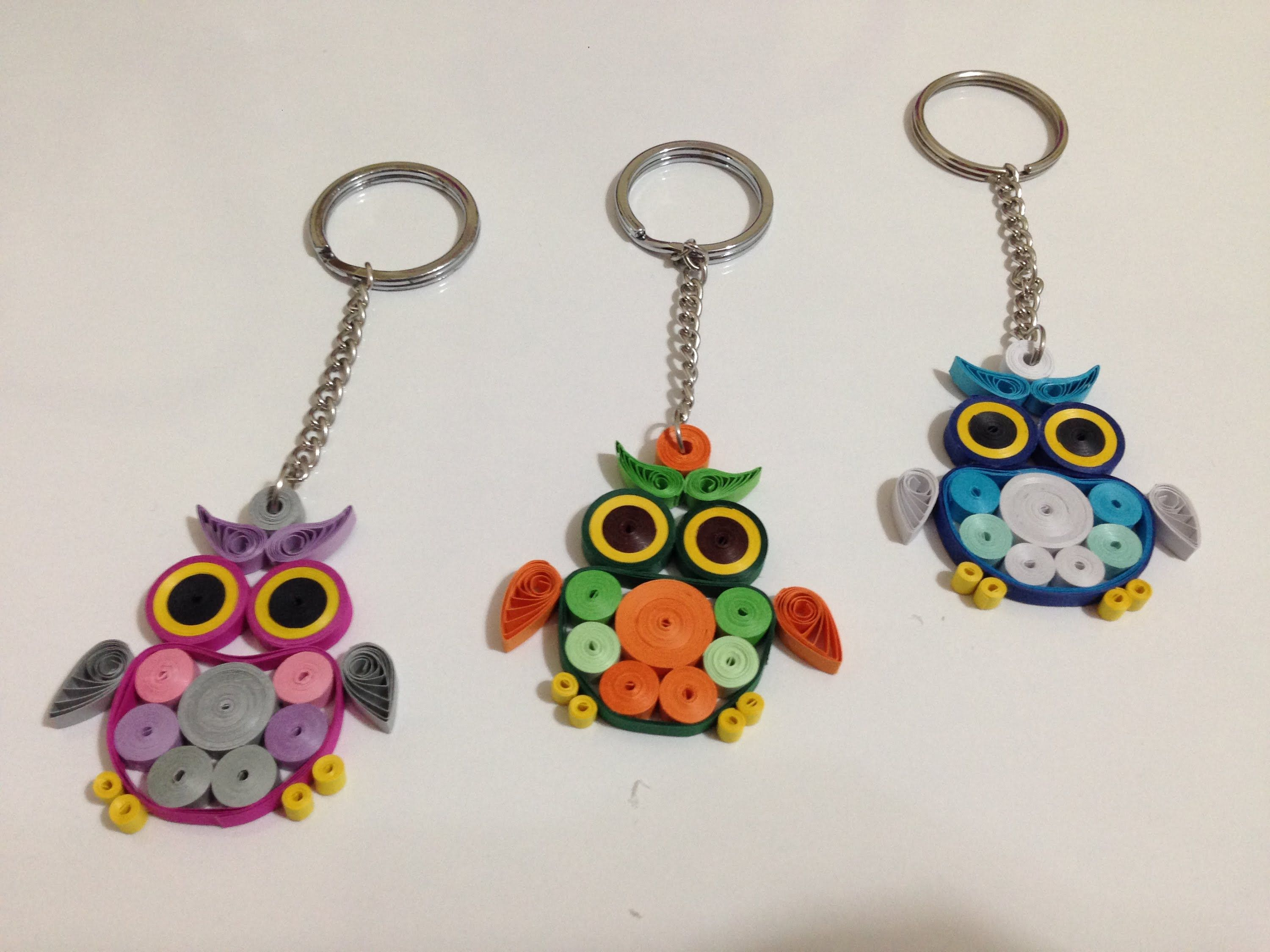 Paper quilling quilling owl tutorial quilling paper for Paper quilling paper