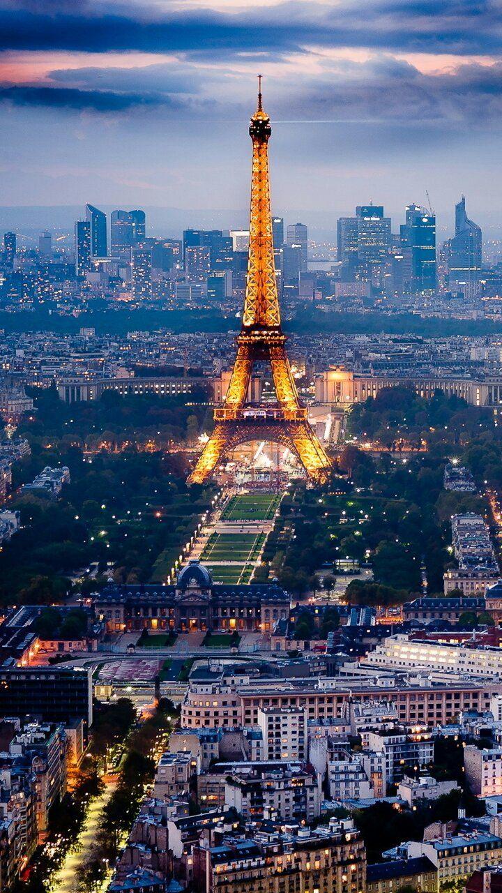 Download 720x1280 Night In Paris Cell Phone Wallpaper Category Architecture Paris Tour Eiffel Paris Travel