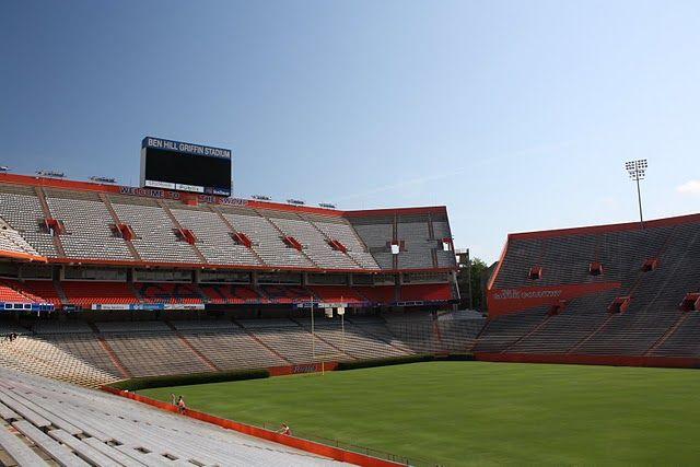 Ben Hill Griffin Stadium aka The Swamp. Gainesville Florida