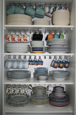 25 Ideen zur Aufbewahrung kreativer Küchen von Genius | ARA HOME #kitchenstorage #kitchenidea ... - Barcelona
