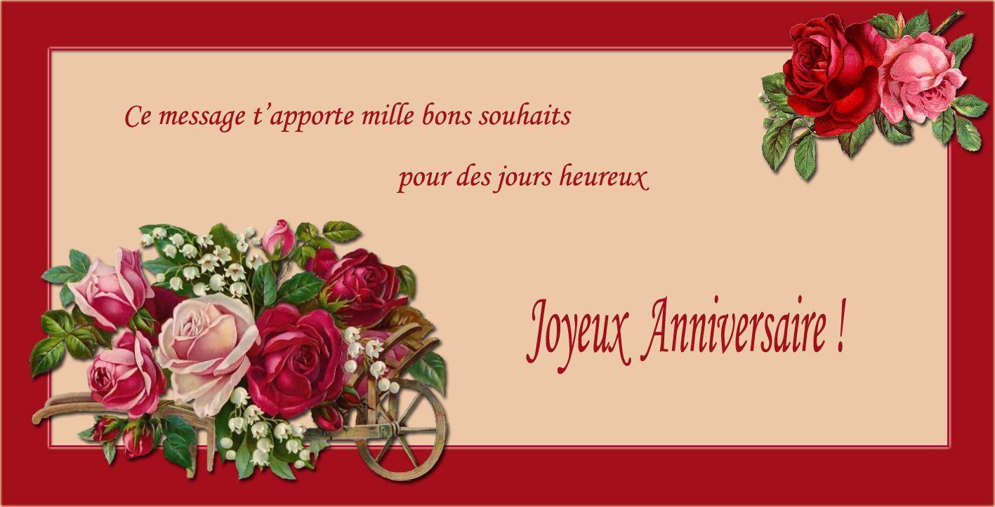 Carte D'anniversaire Animée En Ligne Awesome Carte Invitation Anniversaire 40 Ans Gratuite à ...