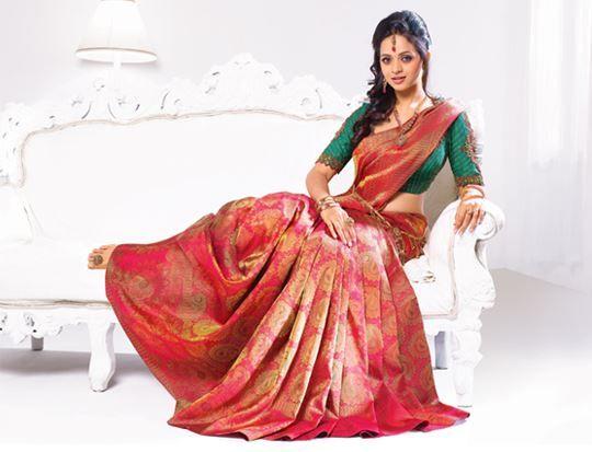Bhavana for pulimoottil silks abhinava bridal collection sarees bhavana for pulimoottil silks abhinava bridal collection thecheapjerseys Gallery